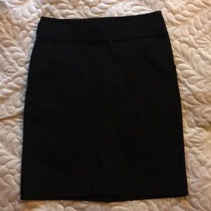 Banana Republic black pencil skirt. New with tag